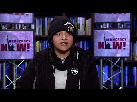 From Keystone XL Pipeline to #DAPL: Jasilyn Charger, Water Protector from Cheyenne River Reservation