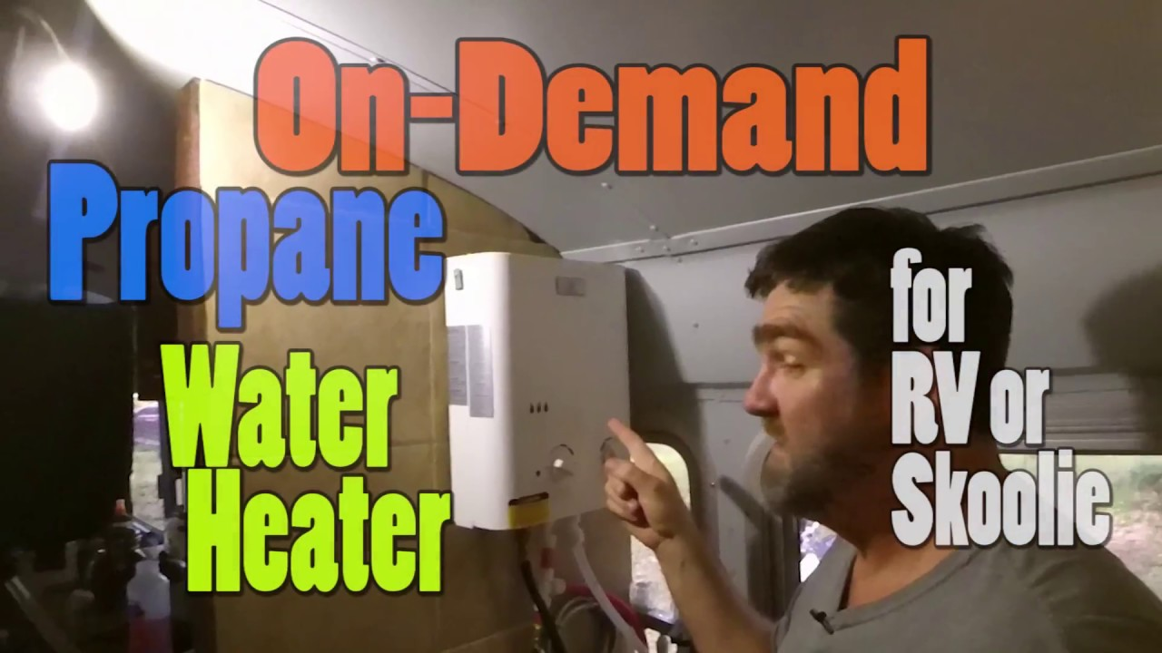 Tankless Water Heater On Demand Water Heater For Rv And