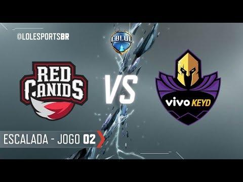 CBLoL 2018: Red Canids X Vivo Keyd (Jogo 2) | Escalada - Fase 3 - 1ª Etapa
