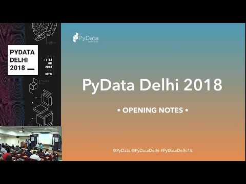 Image from PyData 2018 - Hall 1