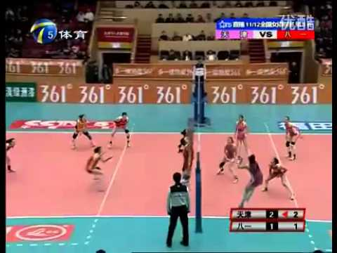 Amazing Volleyball Rally In China! Travel Video