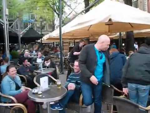 Outdoor dining Amsterdam 2014