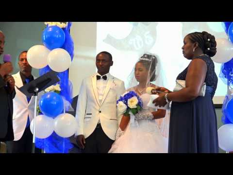 Janvier & Solange's wedding ( Full Video 2017)