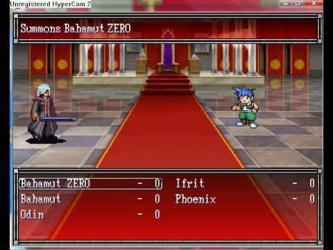 RPG Maker 2003 summoning system