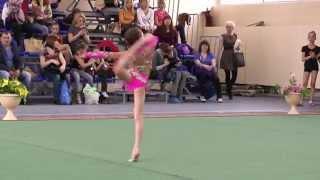Художественная гимнастика.Паринова Екатерина 2005 г.р. БП.