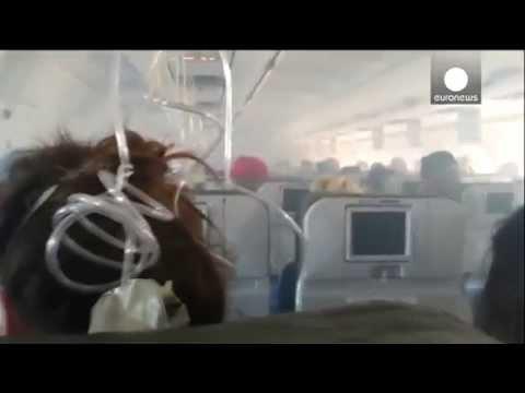 Video: Thick smoke