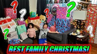 OUR FAVORITE CHRISTMAS EVER! THE BEST SUPRISE PRESENTS FROM FAMILY AND FRIENDS! TONS OF SECRET GIFTS