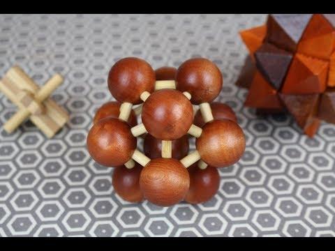 """PUZZLEMAX """"Molecule"""" Wooden Puzzle REVIEW"""