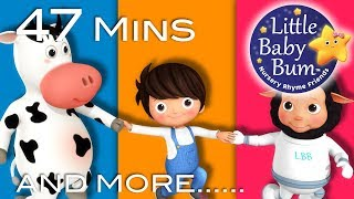 Skip To My Lou | Plus Lots More Nursery Rhymes | 47 Minutes Compilation from Little Baby Bum