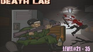 Death Lab game Walkthrough (21- 35 levels)