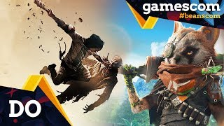 gamescom 2018 | Recap Donnerstag: Biomutant, Neues für die Switch, Jump Force, Devil May Cry