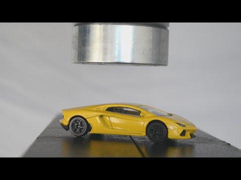 Lamborghini Toy Car vs Hydraulic Press