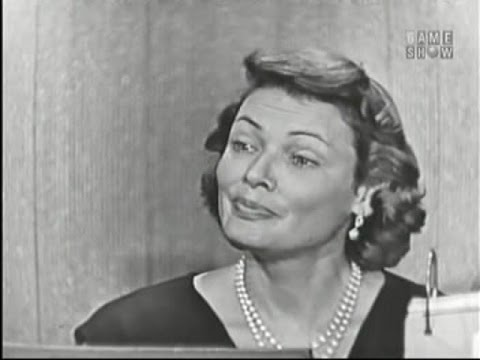 What's My Line? - Gene Tierney; Ernie Kovacs [panel] (Aug 25, 1957)