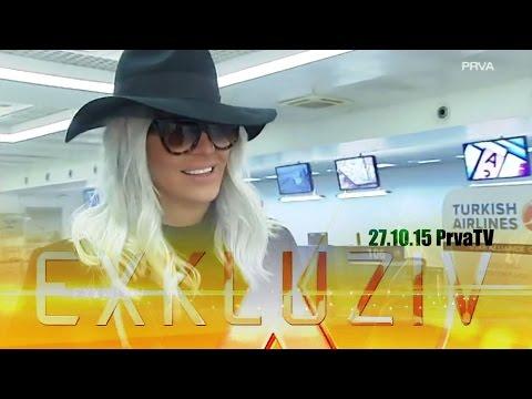 JELENA KARLEUSA // Exkluziv / PRVA tv 27.10.15