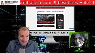 Freie Presse News: Umwelthilfe immer dreister  +++ Gelbe Westen in Stuttgart u.a.
