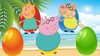 Peppa豚子供のための色を学ぶ(日本語) カラフル と アニメ子供向け Peppa豚 Learn Color For Children