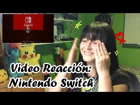 Video Reacción Nintendo Switch !