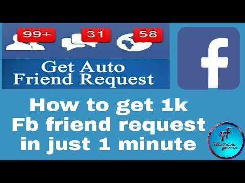 How to get unlimited auto friend request 2018