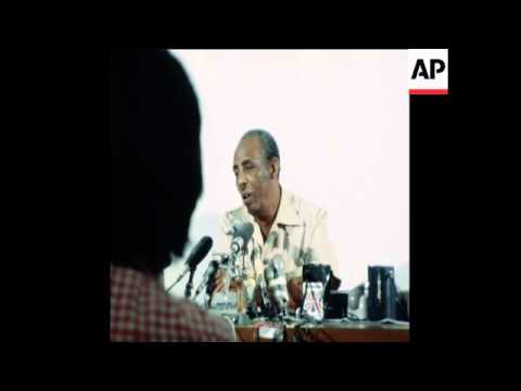 SYND 23 2 78 PRESIDENT BARRE PRESS CONFERENCE ON OGADEN SITUATION