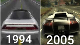 Evolution Of Need For Speed Games (1994-2017) Part 1/ 1080p