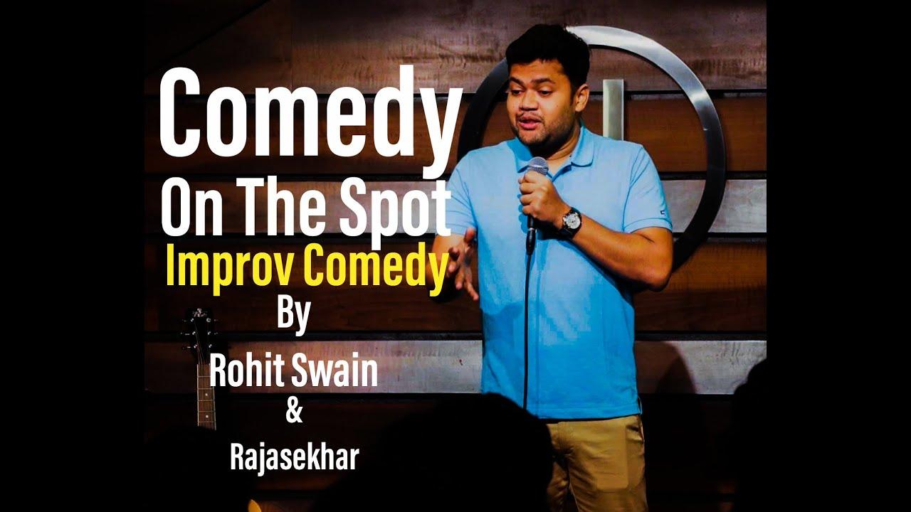 Improv Comedy on Zoom By Rohit Swain & @Rajasekhar Mamidanna