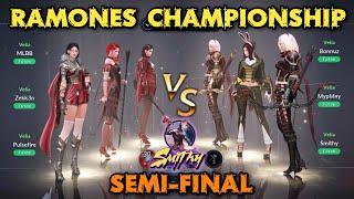 ⚔️Ramones Championship Semi-Final Huntress - EPIC COMEBACK - Black Desert Mobile Global