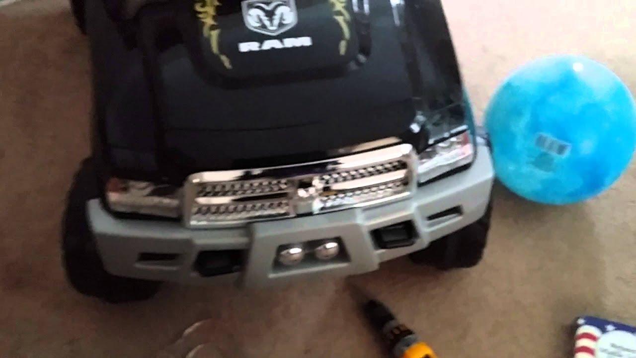 hight resolution of  maxresdefault ram 3500 dually kid trax custom powerwheel youtube kid trax dodge ram wiring diagram at