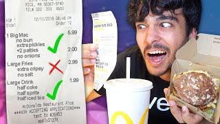 Only Eating 100% CORRECT Drive Thru Orders! (IMPOSSIBLE 24 Hour Challenge)