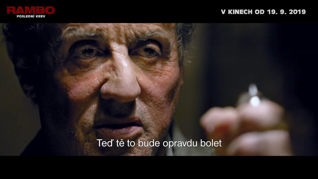 Rambo: Poslední krev - RedBand Trailer, české titulky