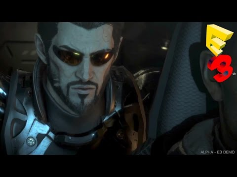 Deus Ex Mankind Divided E3 2015 FULL Panel Presentation Gameplay Trailer Demo (PC, PS4, Xbox One)