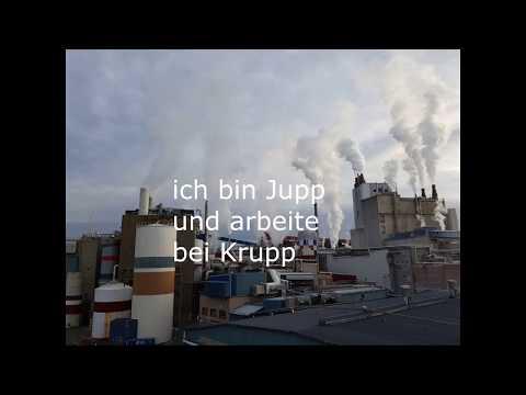 Ich bin Jupp und arbeite bei Krupp