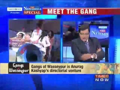 Arnab Goswami interviews Anurag Kashyap, Richa Chadda and Manoj Bajpayee.. of Wasseypur