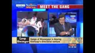 arnab goswami interviews anurag kashyap richa chadda and manoj bajpayee gangs of wasseypur