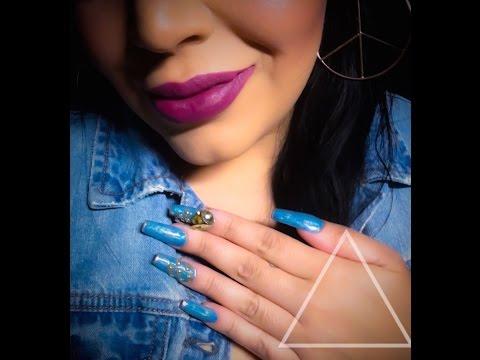Uñas Mezclilla - Denim Nails