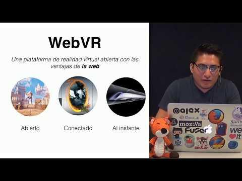 Webinar: ¿Cómo hacer experiencias de realidad virtual con A-Frame?