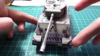 el tanque mas detallado que he hecho | papercraft