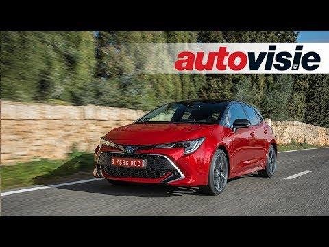 Toyota Corolla (2019) - Test - Autovisie TV