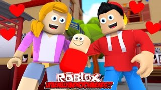 LITTLE KELLY AND LITTLE ROPO HAVE A BABY ??? Sharky Gaming   Roblox