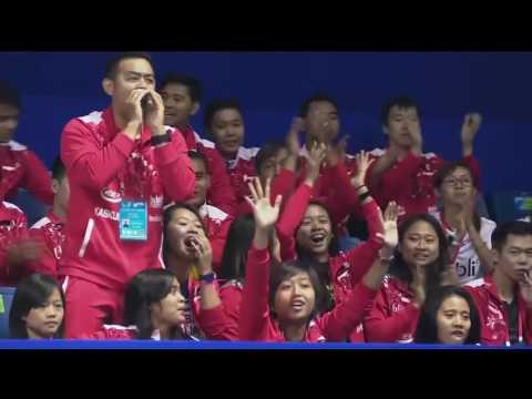 Thomas Cup 2016 MD SF Lee Yong Dae 이용대 Yoo Yeon Seong 유연성 (KOR) VS M Ahsan Hendra Setiawan