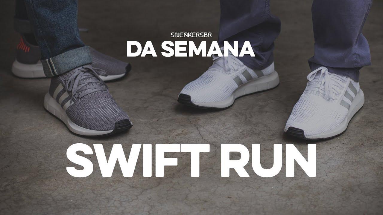 3379dd72f26 Sneakers da Semana - adidas Swift Run - YouTube