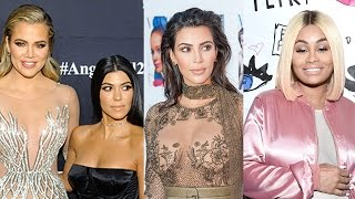 Kardashian Sisters BLOCK Blac Chyna From Cashing In On Family Name