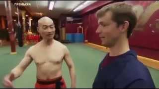Шаолиньский монах наносит смертельный удар