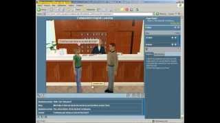 Виртуальная среда для обучения English. Интерфейс.