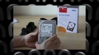 Hitachi 4TB 7K4000 Deskstar Hard Drive Unboxing
