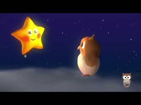 Parla Parla Yıldızcık   3D Animasyonlu Çocuk Şarkıları   Mini Baykuş