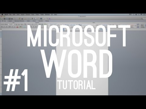 Microsoft Office Word 2011 Mac Overview!