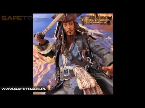 [CAF-13] Piraci z Karaibów™ Kapitan Jack Sparrow Figure Figurka Kolekcjonerska [www.safetrade.pl]