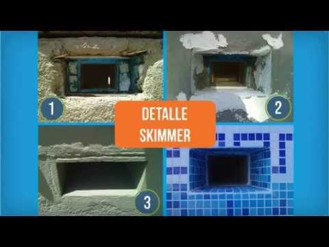 Repicor proceso de la reparaci n de una piscina de for Como construir una pileta de hormigon