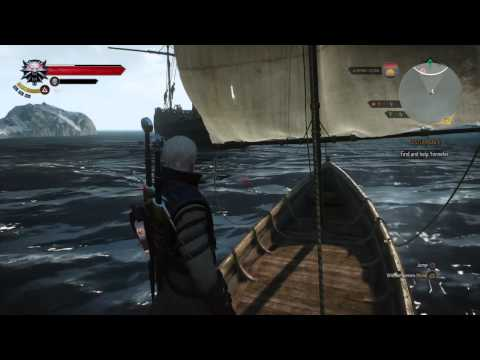 Witcher 3: Sailing, a lot of sailing