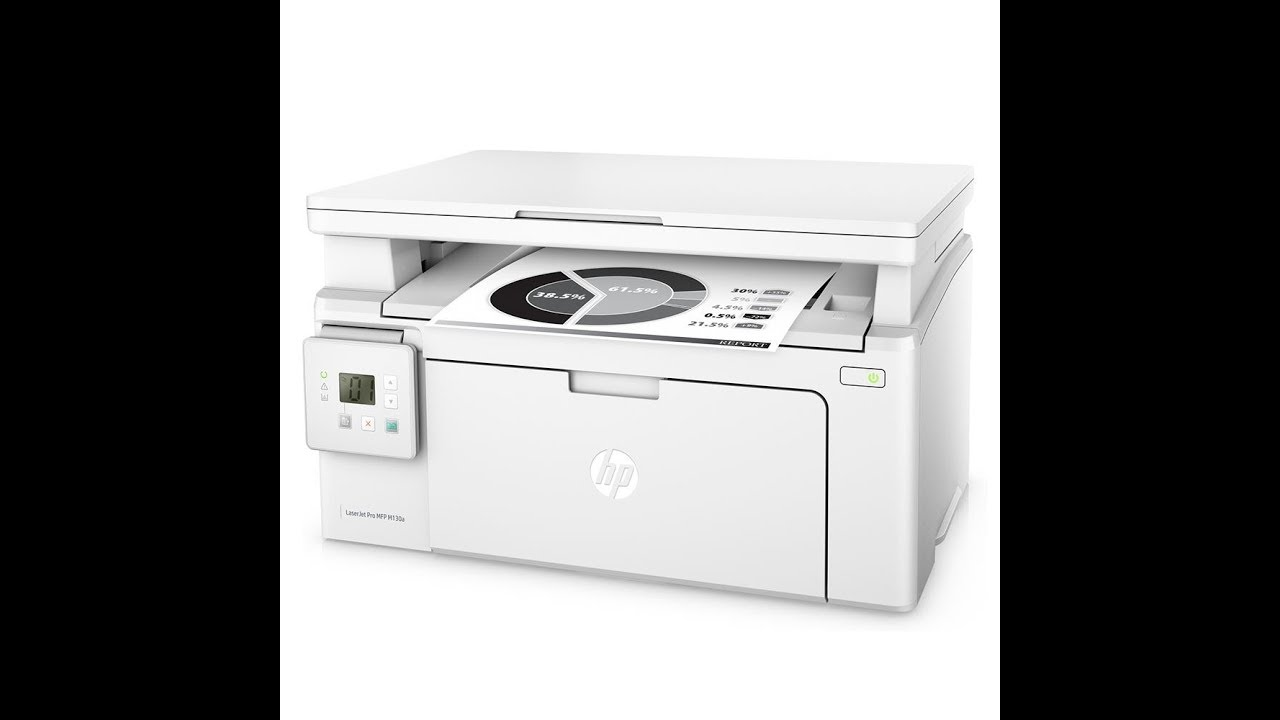 How to install HP LaserJet pro MFP M130a on Windows 7